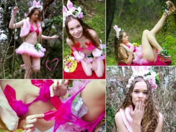Milena Angel Club Easter Bunny Video Reportage